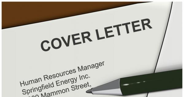 job application letter tips